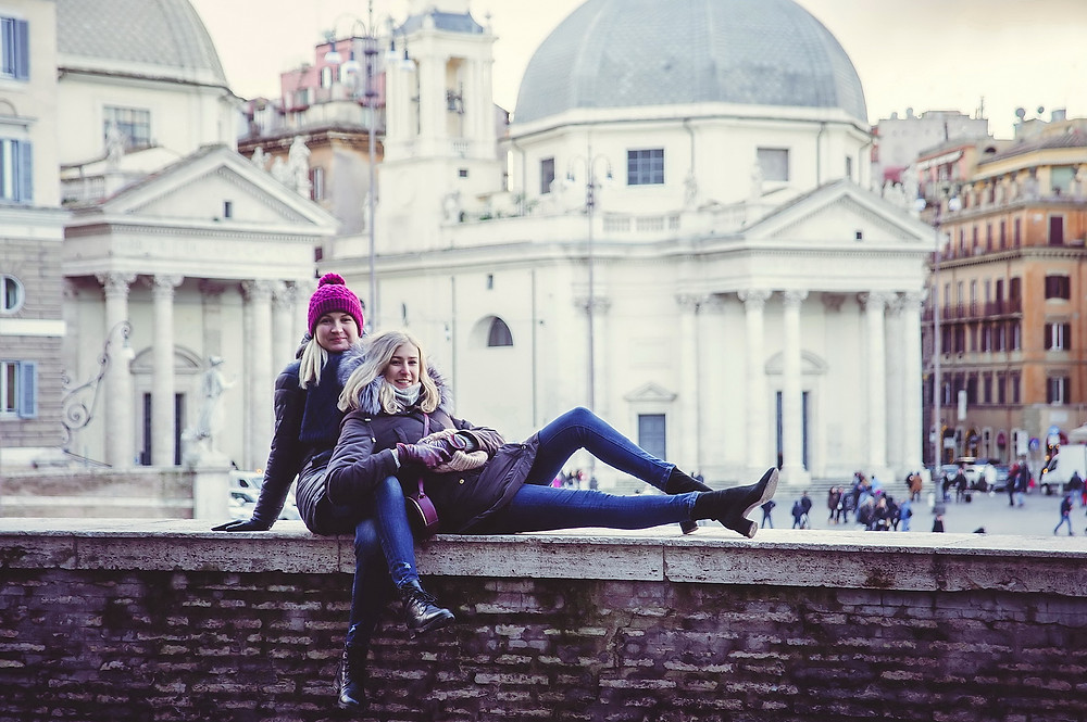 семейная фотосессия в Риме