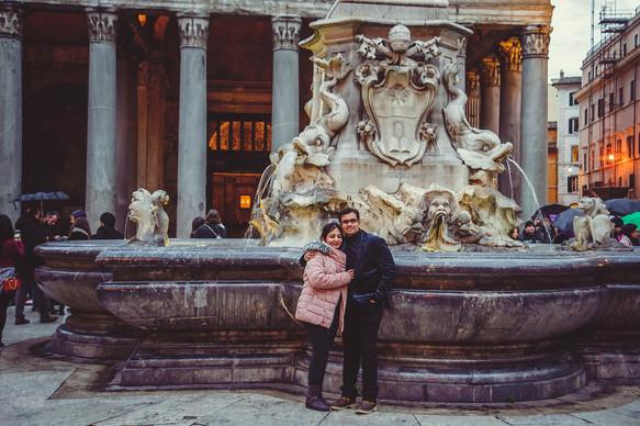 Italian fascinating photoshoot in Rome