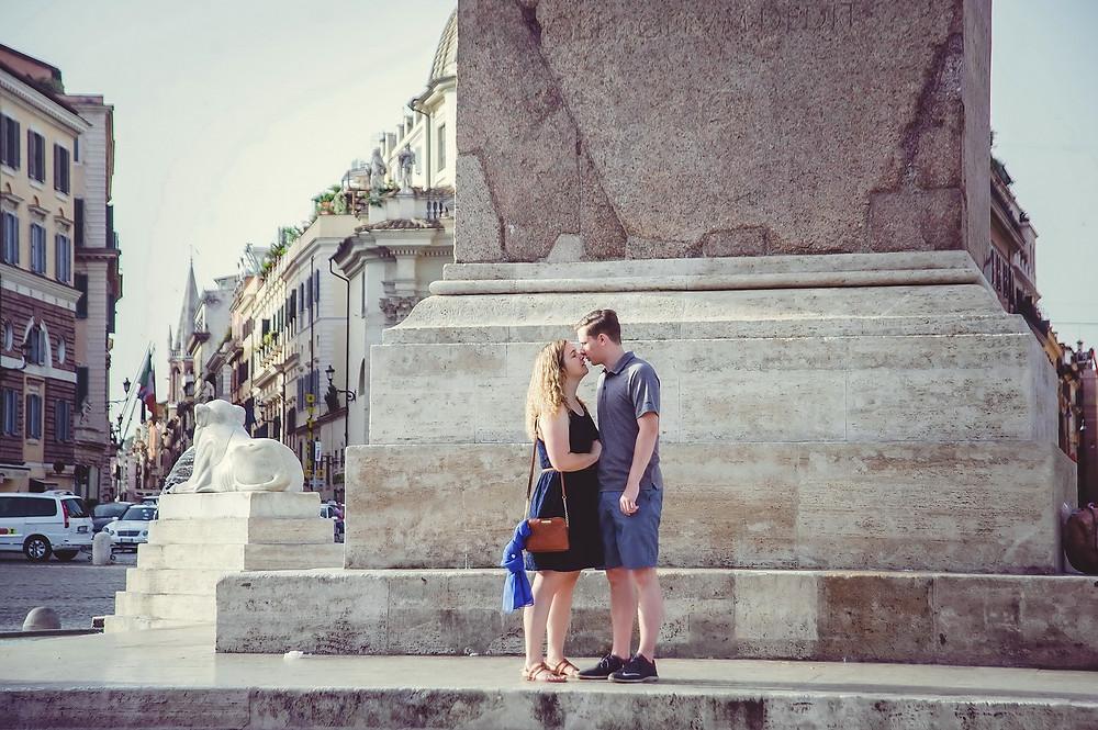 servizio fotografico love storty  a Roma