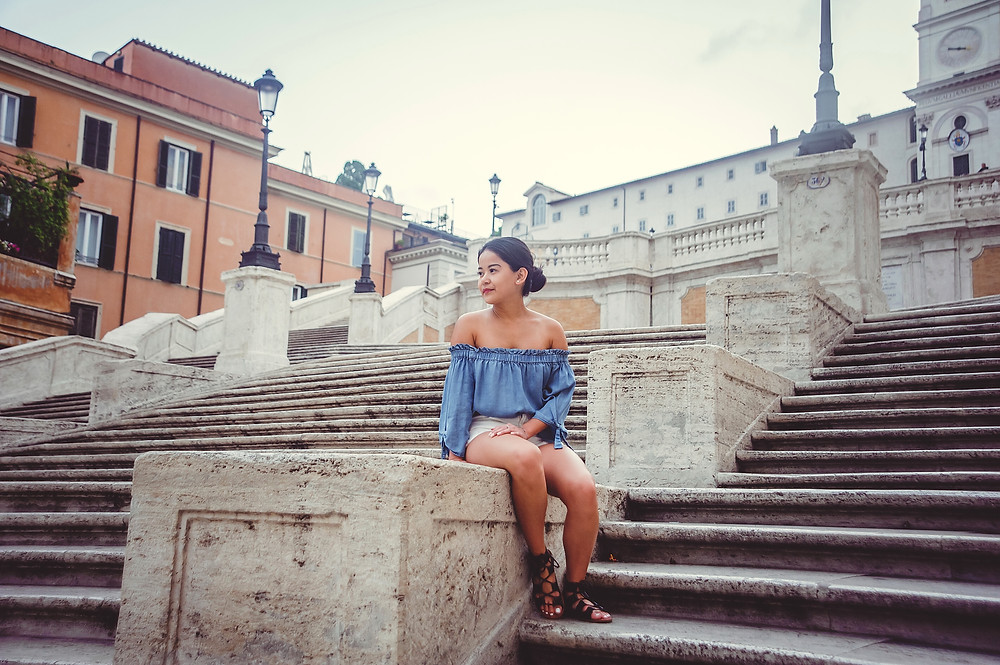 photo shoot in Rome