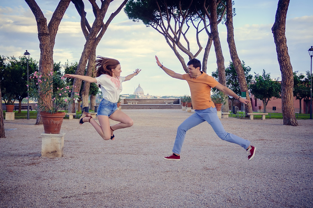 love story in Rome, love story в Риме