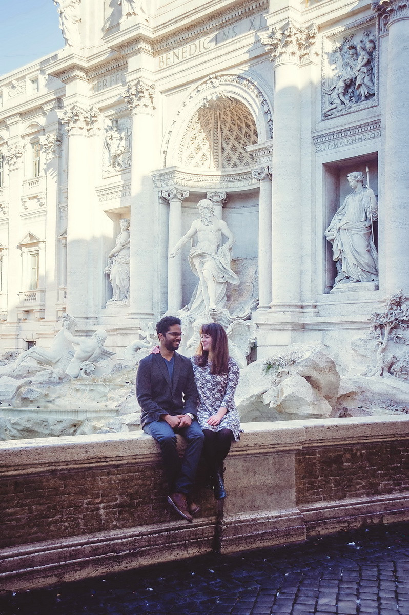 love story in Rome