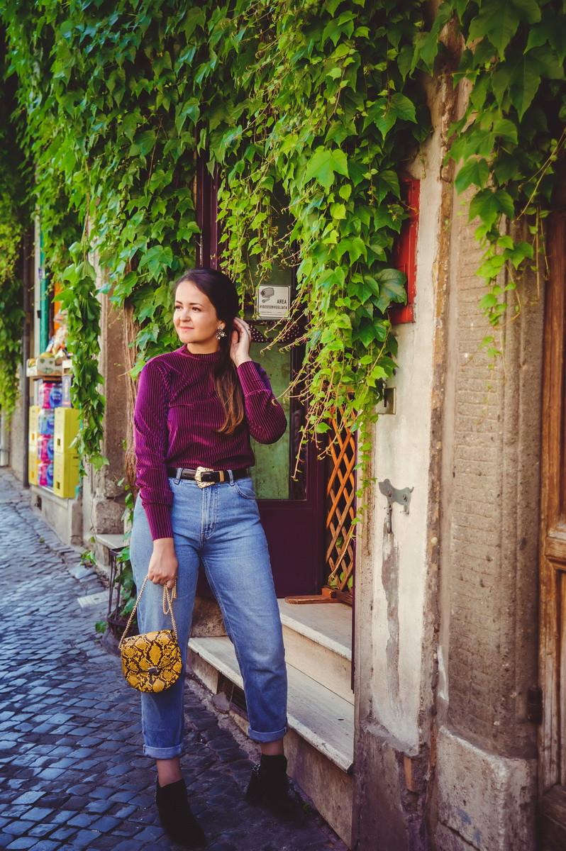 portrait photo shoot in Rome by destination photographer in Italy Olga Angelucci
