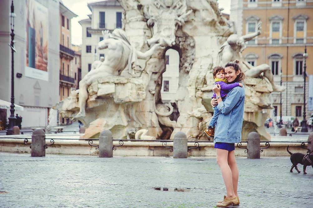 family photo shoot in Rome