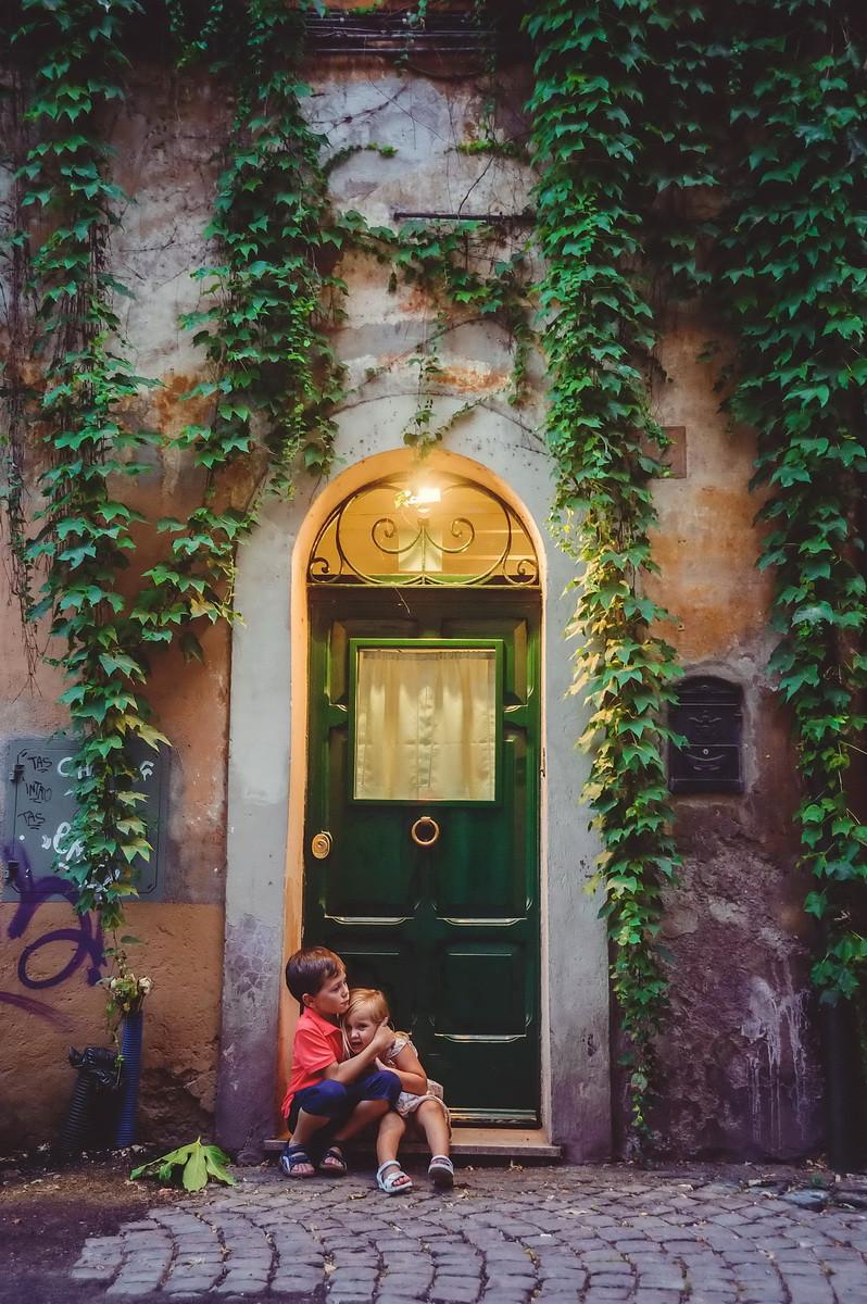 семейная фотосессия в Риме от семейного фотографа в Италии