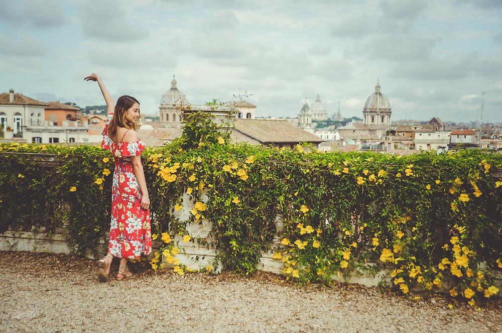 фотосессия в Риме, fashion photo shoot in Rome