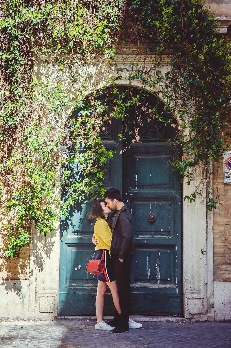 love story в Риме