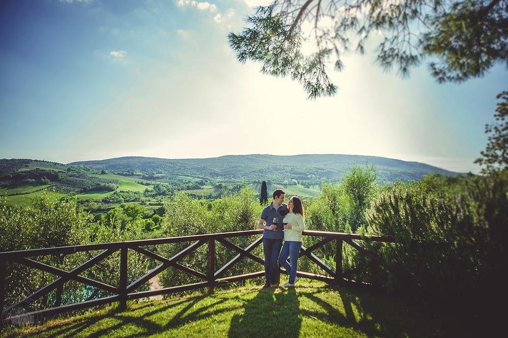 love story photo shoot in Tuscany, фотосессия love story в Тоскане