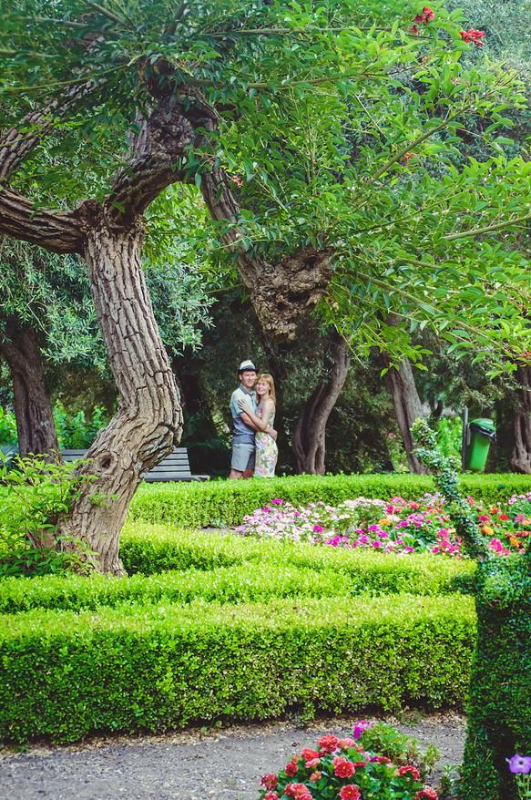 Love story in Taormina
