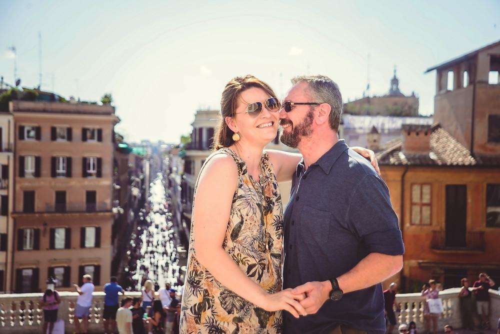 servizio fotografico love story a Roma