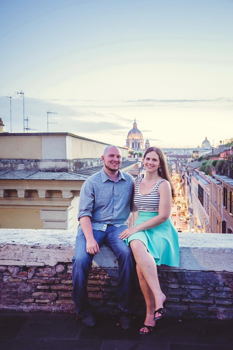 love story фотосессия в Риме