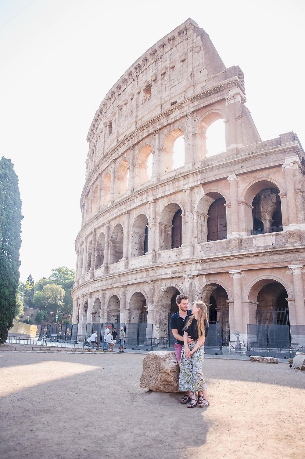 love story photo shoot in Rome, love story фотосессия в Риме