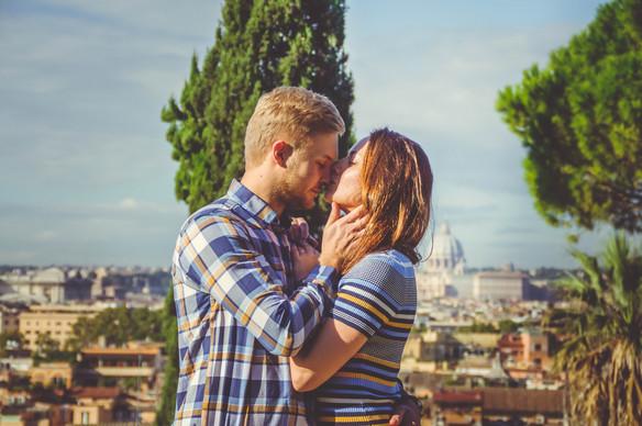 Love story in Rome