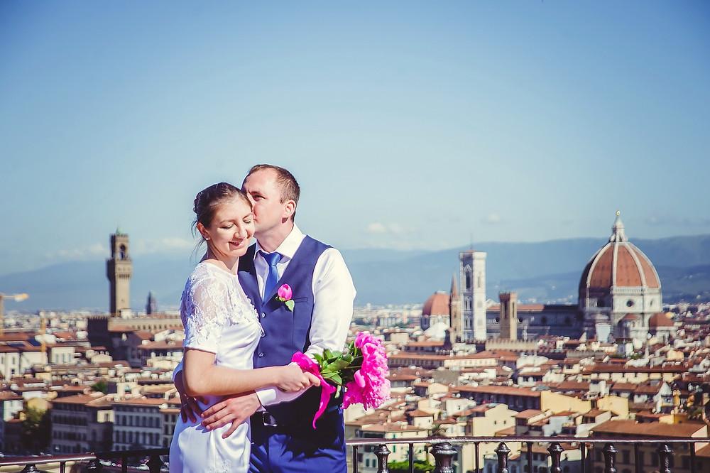 servizio fotografico matrimonio a Firenze