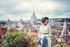 Portrait photo shoot in Rome