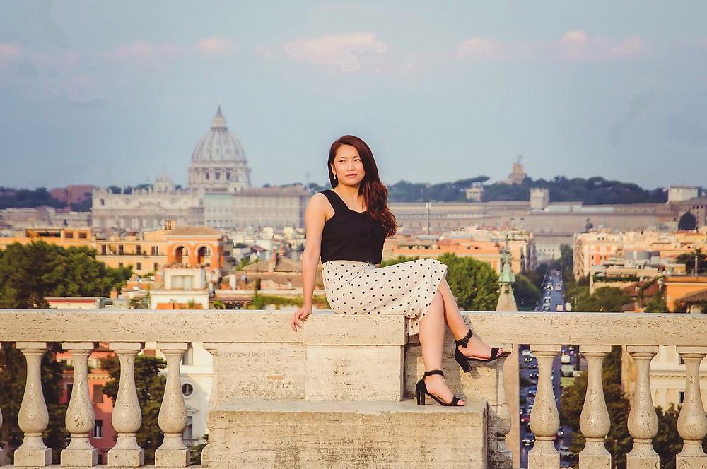 servizio fotografico di ritratto a Roma