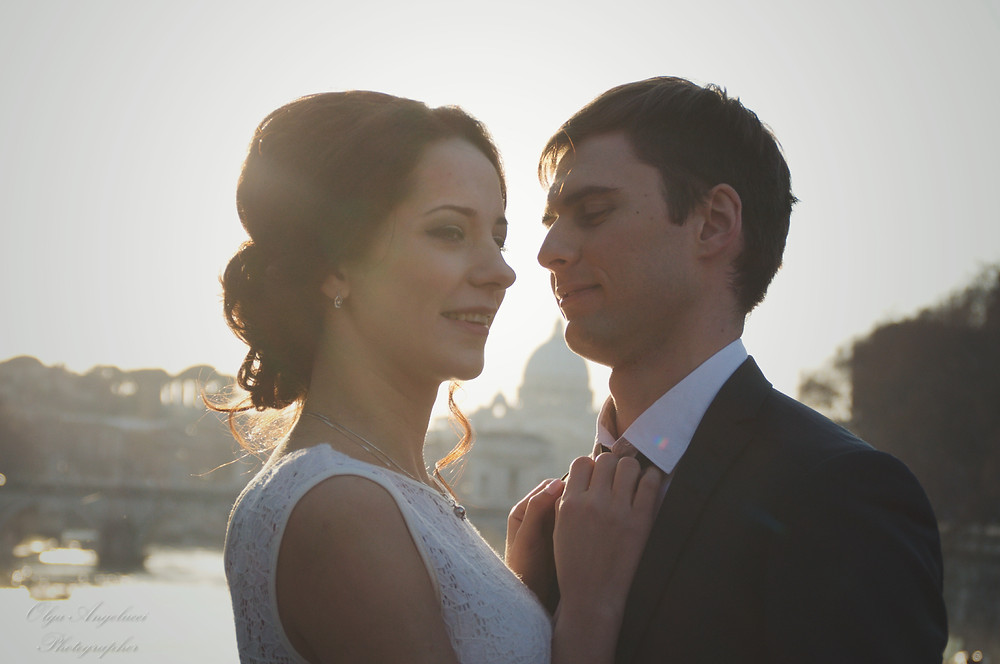 wedding in Rome, свадьба в Риме