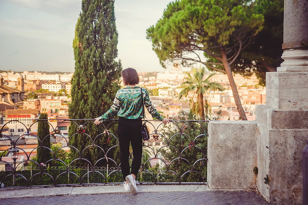 portrait photo shoot in Rome by destination photographer in Italy