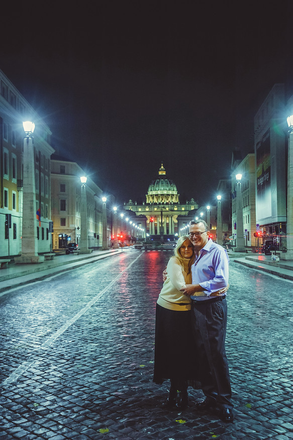 Midnight walks in Rome