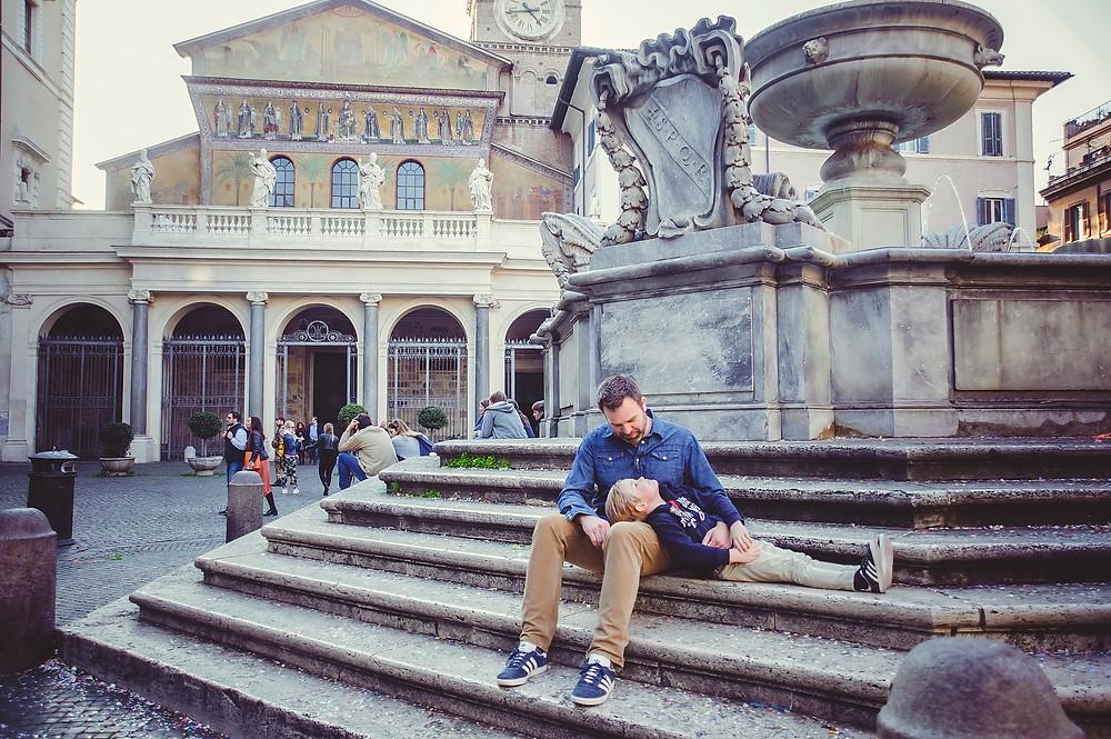 детская фотосессия в Риме