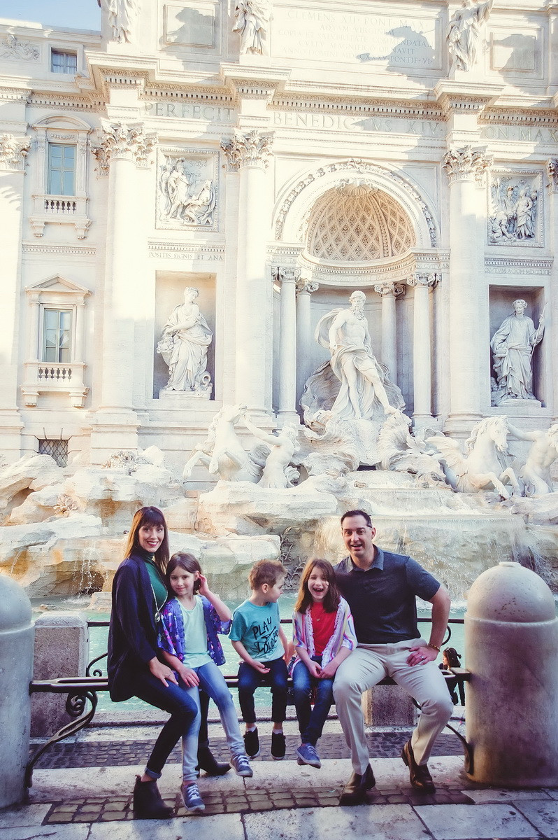 family photo shoot in Rome