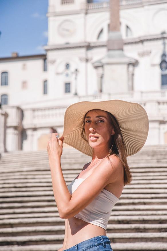 Photo shoot at Spanish steps