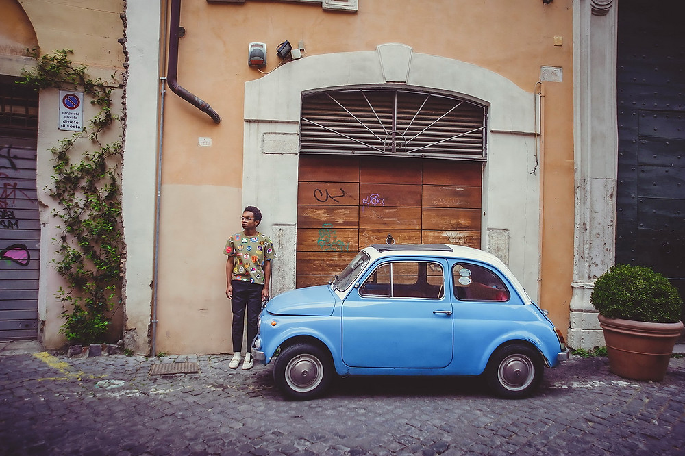 portrait photography in Rome