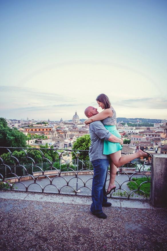 Прогулка в сумерках по Риму