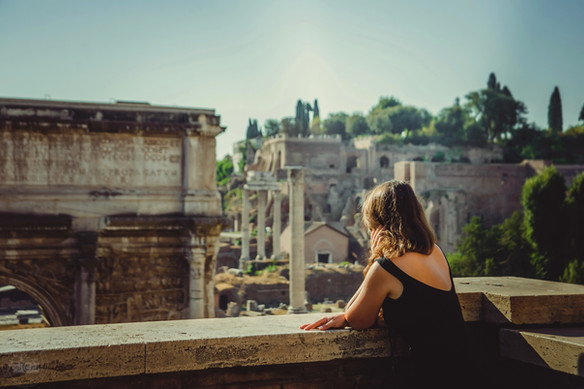 Eternal City is an ideal place for the contemplative meditations.