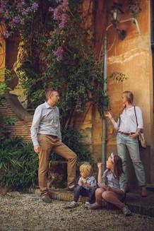 family photo shoot in Rome, семейная фотосессия в Риме, servizio fotografico famiglia a Roma