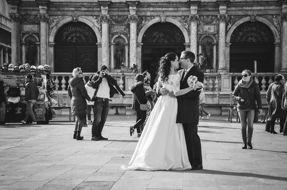 One wonderful day in Venice. One splendid wedding!