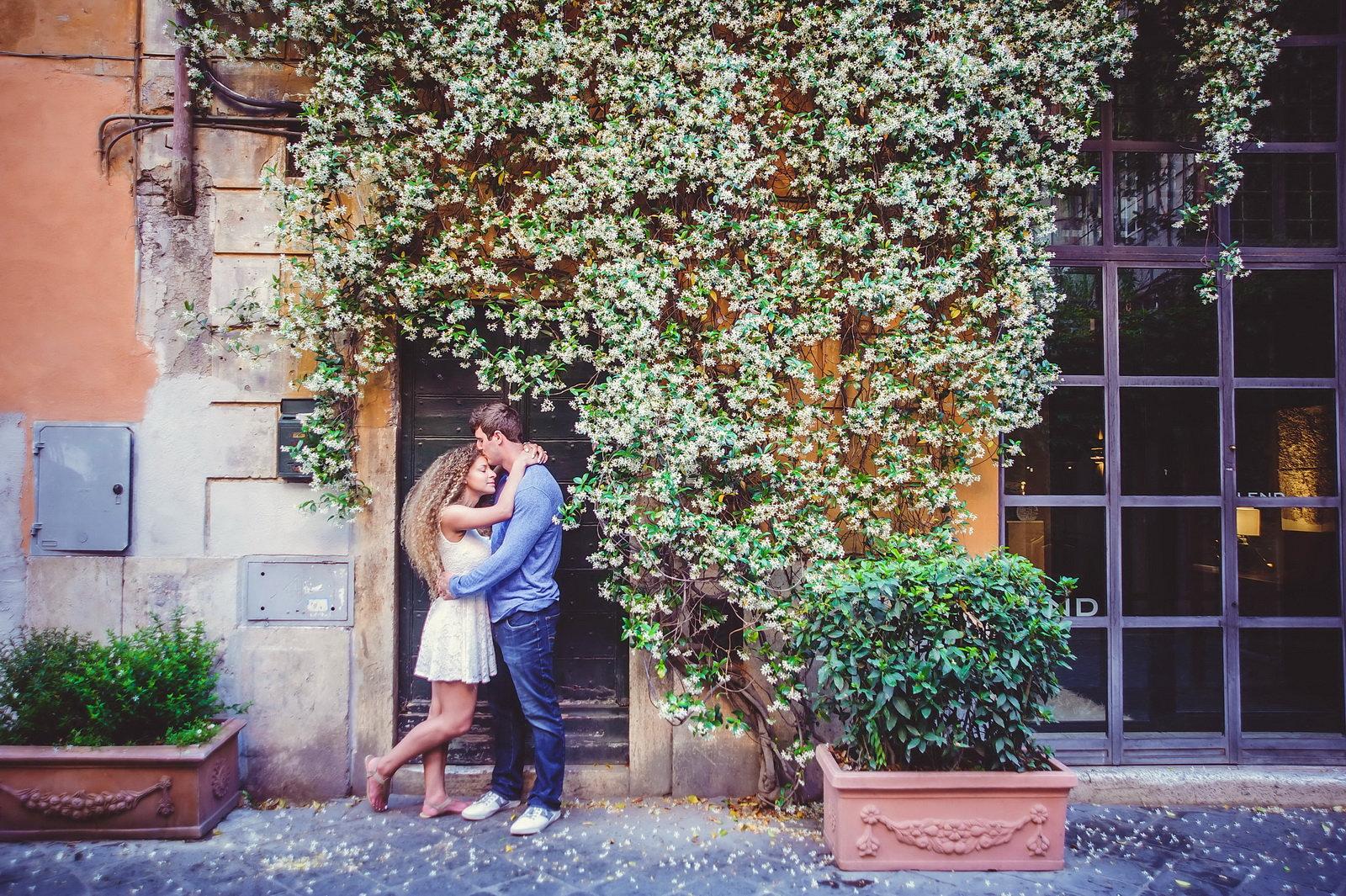 Photo shoot in Trastevere