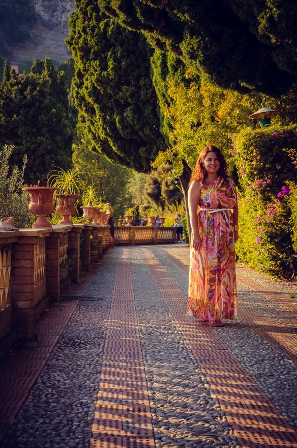 Bright summer in Taormina