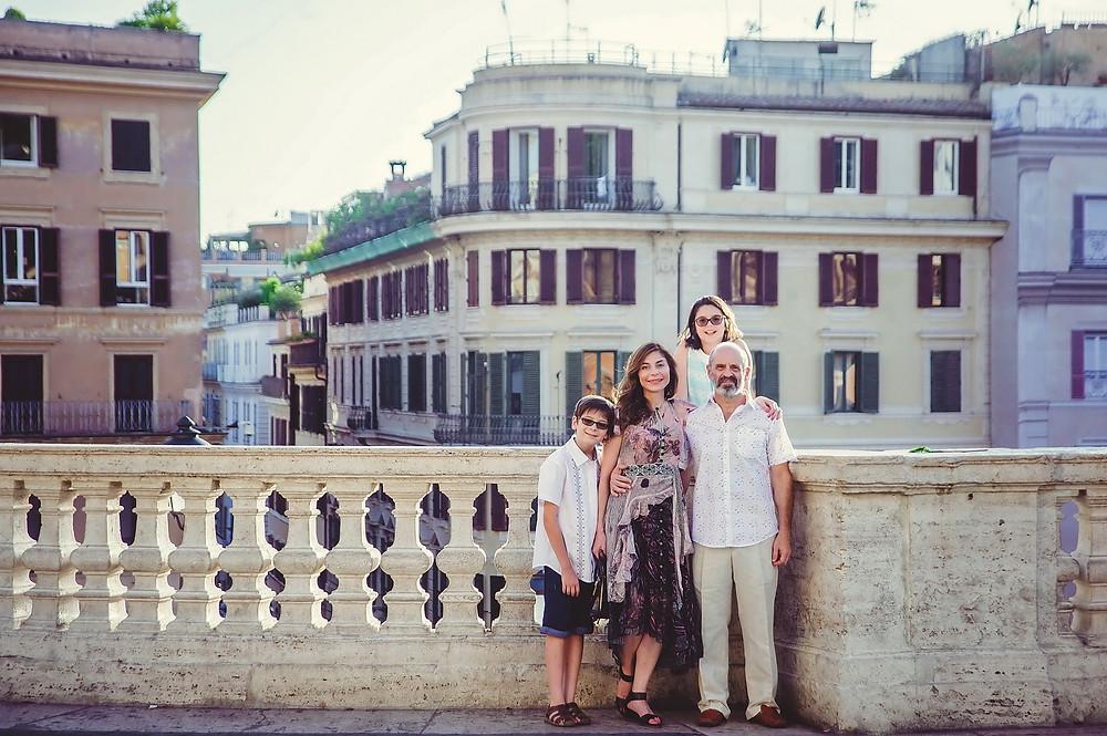 servizio fotografico di famiglia a Roma