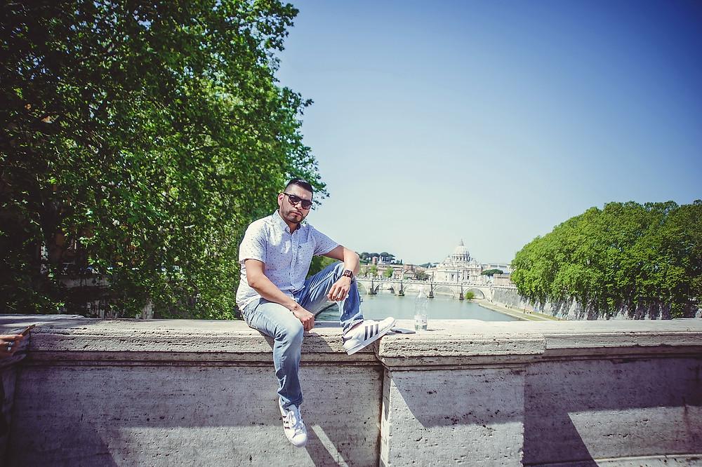 photoshoot in Rome