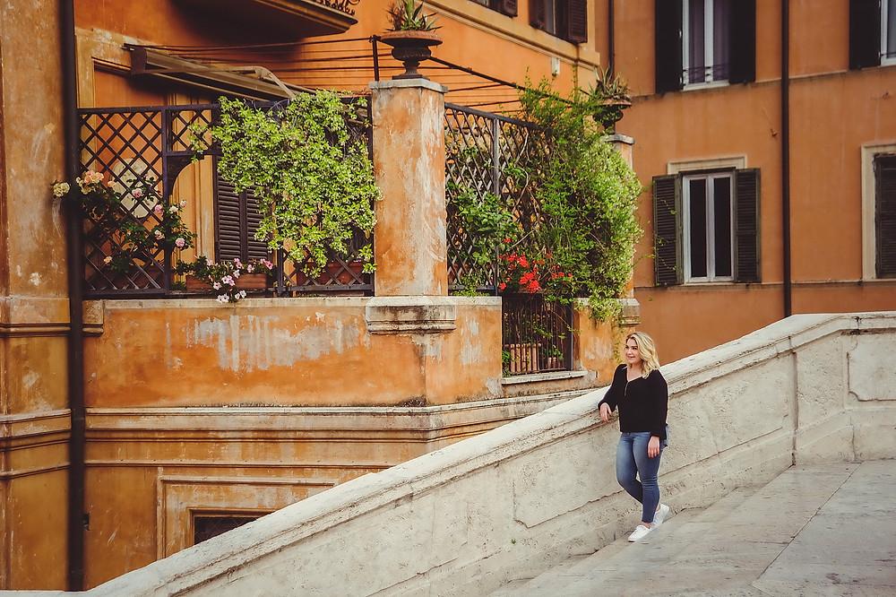 индивидуальная портретная фотосессия в Риме от русскоговорящего фотографа в Италии