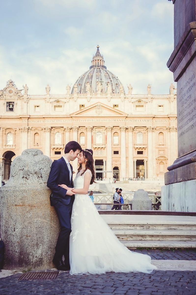 servizio fotografico di matrimonio a Roma