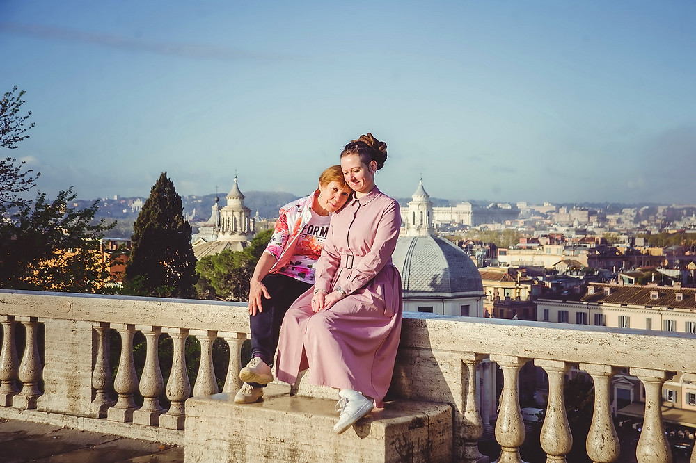 family photoshoot in Rome