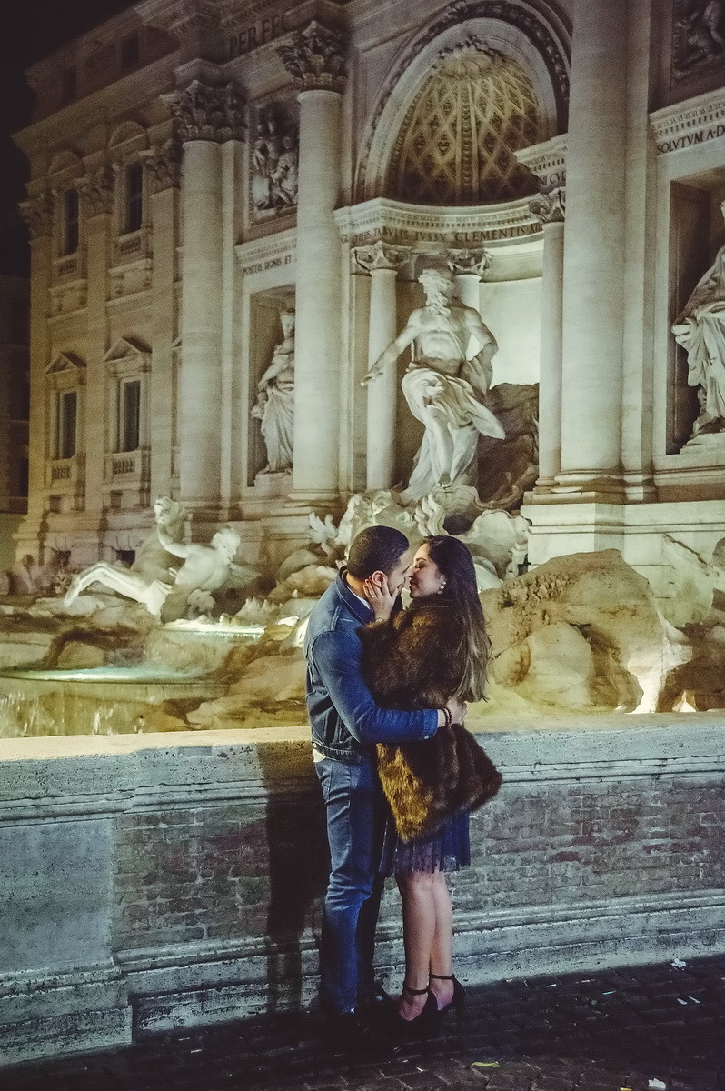 engagement in Rome