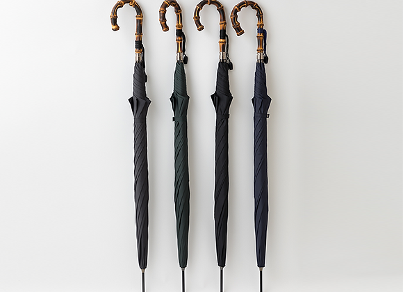 真鍮玉留め10本骨長傘
