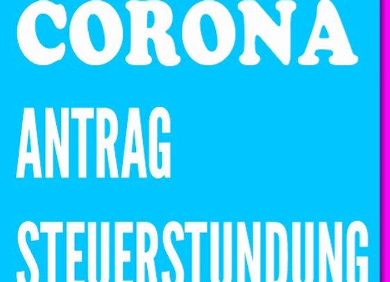 """Antrag auf Steuerstundung als Download - mit 100 % Gutscheincode """"Jurasnacks"""""""