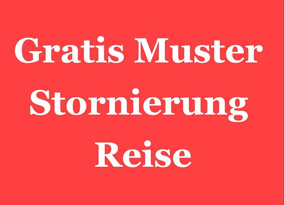 """Muster Reisestornierung Corona, Download mit 100 % Gutscheincode """"JuraSnacks"""""""