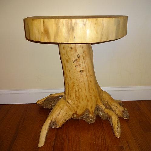 Spruce Stump Table