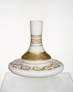 Flask 25 x 25 w-gold