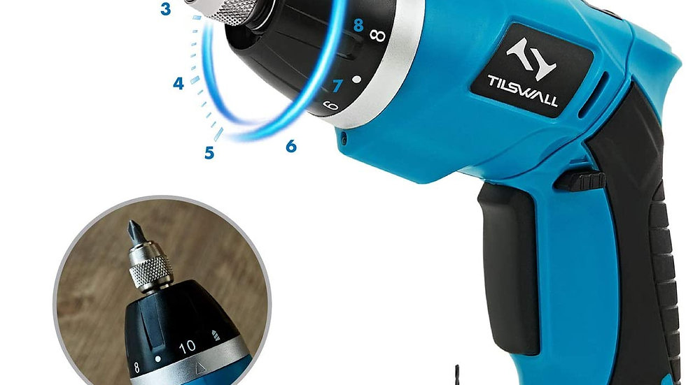 Tilswall electric cordless screwdriver