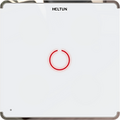 Heltun Z-Wave 700 Touch Panel Switch Solo (1 channel)