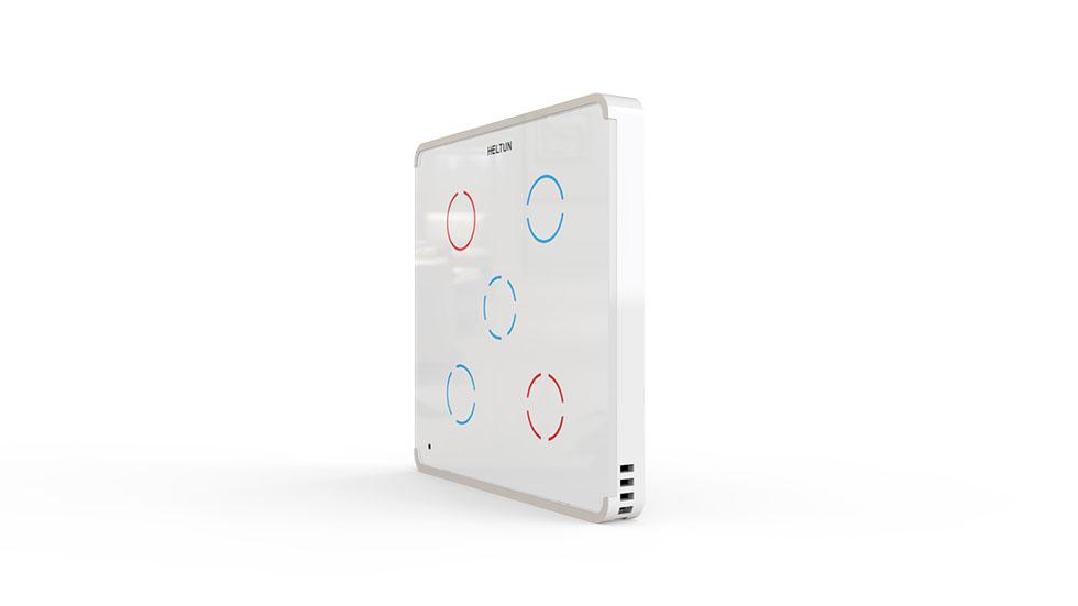 Switcher White Glass White Case