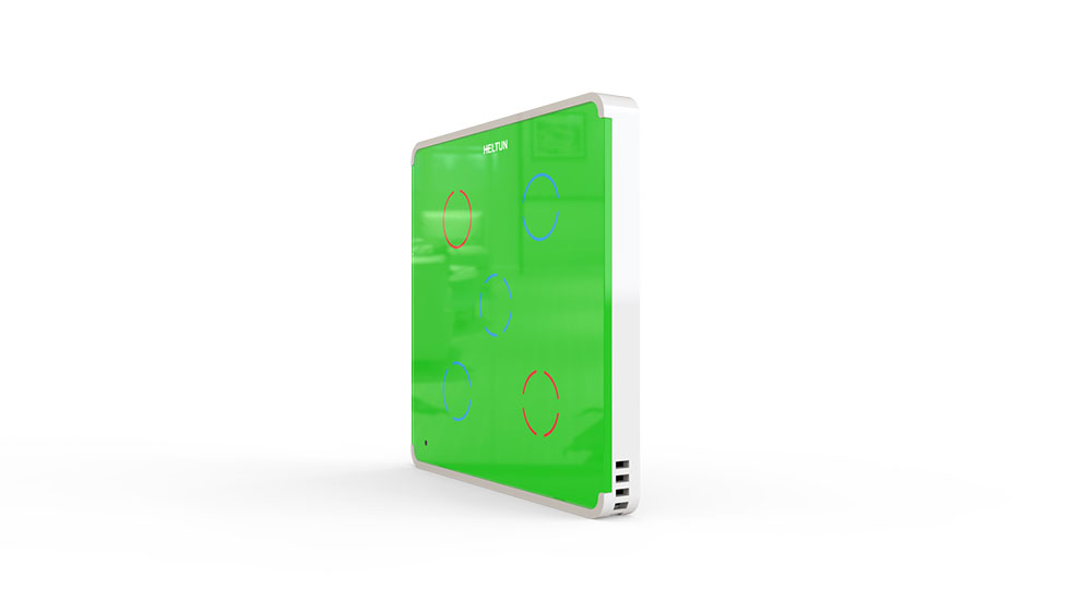 Switcher Green Glass White Case
