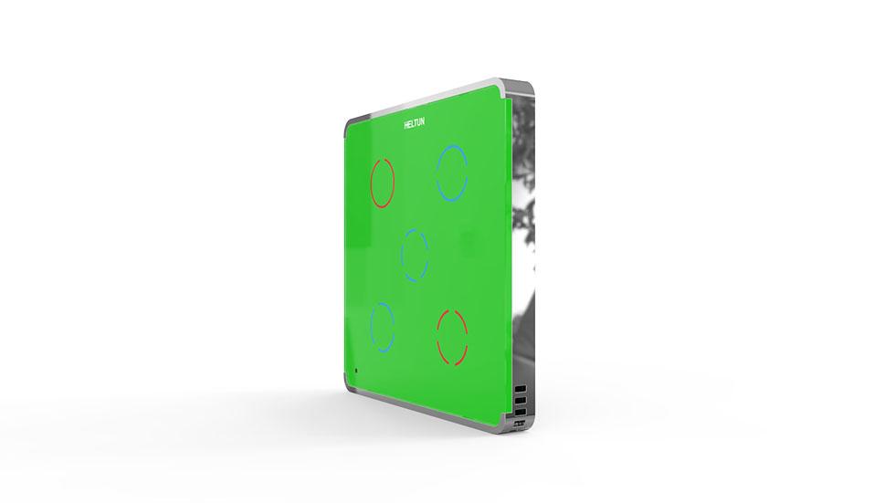 Switcher Green Glass Chrome Case