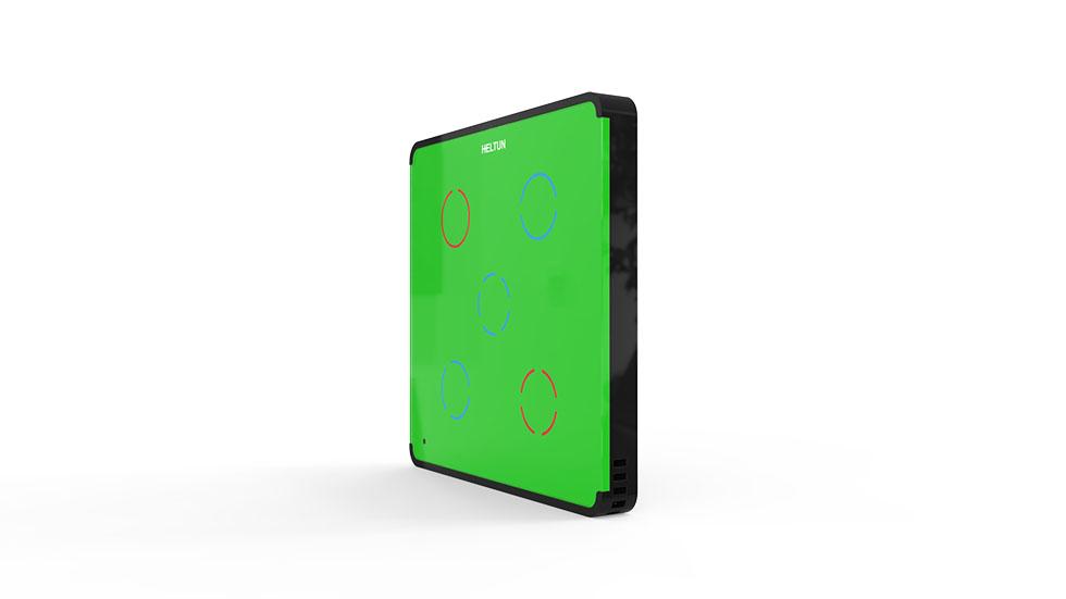 Switcher Green Glass Black Case